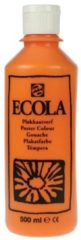 Plakkaatverf Talens ecola flacon van 500 ml, oranje