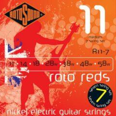 Rotosound R11-7 snarenset voor 7-snarige elektrische gitaar