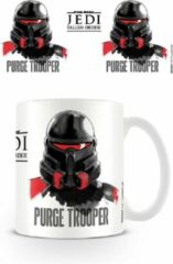 Witte Star Wars: Jedi Fallen Order - Mug - 315 ml - Purge Trooper
