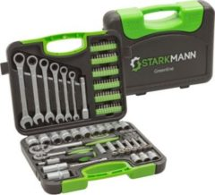 Starkmann Greenline Premium Schrauben-/Steckschlüssel-Satz, 104-tlg