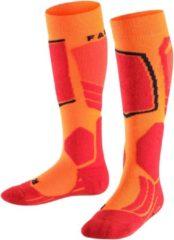 FALKE SK2 Skisok Kinderen 11432 - Rood 8034 flash orange Kinderen - 31-34