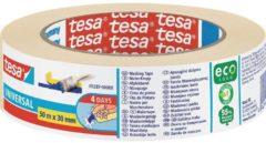 Tesa 604776 Schilderstape tesa Krepp Beige (l x b) 50 m x 30 mm 1 rol/rollen