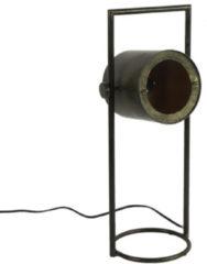Countryfield Tafellamp Patony 24 X 18,5 X 55 Cm Staal Zwart