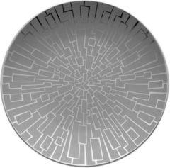 Zilveren ROSENTHAL STUDIO LINE Rosenthal TAC Gropius Skin Platinum - Gebaksbordje - � 16 cm