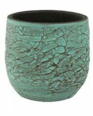 Groene Ter Steege Pot evi antiq bronze bloempot binnen 15 cm