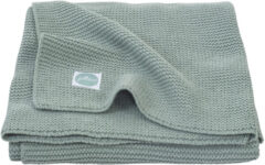 Jollein deken Basic Knit 100x150 cm light grey 516-522-65105