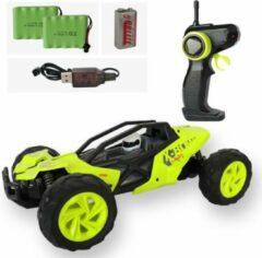 Open buggy RC auto lichtgroen 2,4Ghz: + EXTRA ACCU - Bestuurbare auto voor jongens - Schaal 1:14 - 31x18.5x12.5cm