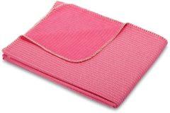 Rosa Wohndecke 'Arrach' biederlack pink