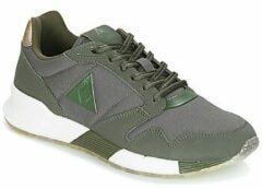Groene Lage Sneakers Le Coq Sportif OMEGA X W METALLIC