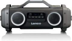 Lenco SPR-070 - Bluetooth speaker met radio, usb en aux aansluiting - Zwart