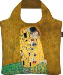 "Ecozz 100% rPet Ecoshopper Gold Edition "" De Kus"" Gustav Klimt"