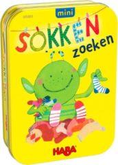 Gele Haba minispel Sokken Zoeken (NL)