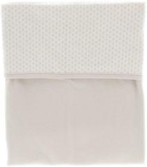 Snoozebaby wieg deken van organic katoen - 75x100cm - T.O.G. 1.0 - Stone Beige beige