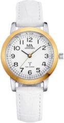 Witte Meisteranker Radiografisch horloge Meister Anker wit