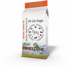 Farm Food Zalmolie Mini Zalm - Hondenvoer - 12 kg
