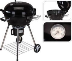 BBQ Houtskool Barbecue - Grilloppervlak (LxB) 44 X 32 cm - Staal - Mat Zwart