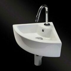 Witte Best Design Class Fonteincombinatie Floor inclusief sifon kraan en afvoerplug 3856530