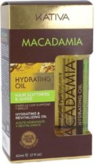 KATIVA Macadamia Hydrating Oil, 60ml
