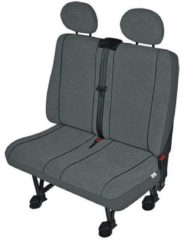 Merkloos / Sans marque HP Autozubehör 22412 VS2 Seat covers 1-piece Polyester Anthracite Seat (2 people)