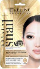 Witte Eveline Cosmetics Royal Snail Intensely Regenerating Anti-Age Sheet Mask