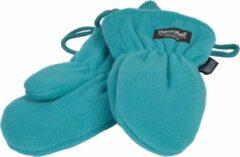 P&T Wanten Kinderen 2j. Turquoise met Touwtje, Fleece |Dubbel gevoerd Thinsulate