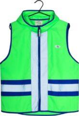 Gofluo. Joy Veiligheidshesje - Reflecterend hesje - Fluoriserend - Veiligheidsvest - Hardloophesje - Reflectie jas - Lichtgewicht - Veilig de weg op - Groen - XL