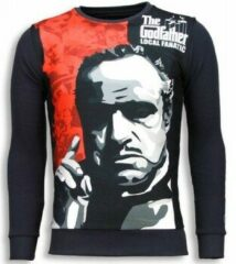 Grijze Local Fanatic Padrino - The Godfather - Sweater - Donker Grijs - XL
