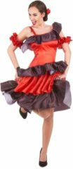 LUCIDA - Rode flamenco danseres kostuum voor vrouwen - M - Volwassenen kostuums