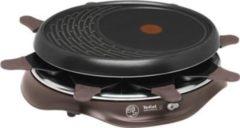 Raclette Simply Invents 8 schwarz Tefal Schwarz