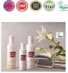 Zwarte Holy Lama Naturals Ayurvedische shampoo - 200 ml - L