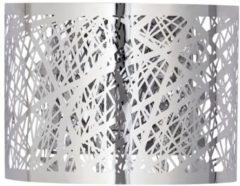 MiaVILLA Wandleuchte Grate, modern, Metall, Glas, ca. B20 x T11 x H15 cm