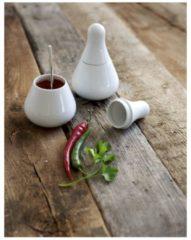 Gourmet-Hut BBQ Kahla Weiß