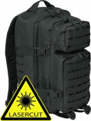 Brandit Backpack - Rugzak - LASERCUT Mollie system - medium zwart