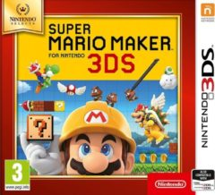 NINTENDO 3DS game Super Mario Maker (Selects)