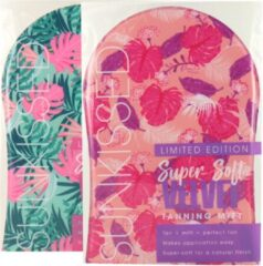 Roze Sun Kissed Sunkissed Super Soft Velvet Tanning Mitt - Limited Edition (2 stuks)