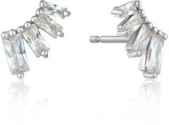 Ania Haie Oorbellen AH E018-04H 925 Sterling Zilver Glow Getter Zilverkleurig