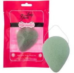Lady Green Lady groen Konjac Spons Aloeve (1st)