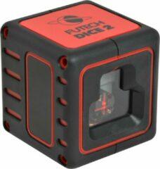 Futech Dice 2 Kruislijnlaser - Rood - bereik: 40 meter - Incl. batterijen