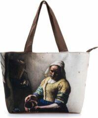Robin Ruth Shopper Tas Small 38x25cm Vermeer - Melkmeisje