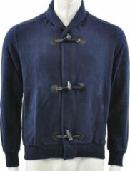 Blauwe Australian - Sweat Jacket - Heren - maat 50
