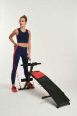 Rode Active Panther Fitnessbank - Sit up - Fitnessbank multifunctioneel Buiktrainer sit up bench buikspierbank fitness bank