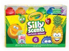Crayola Silly Scents uitwasbare verf met geur junior 6-delig