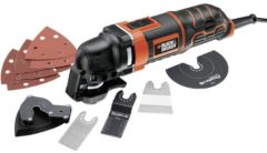 Black & Decker MT300KA MT300KA-QS Multifunctioneel gereedschap Incl. accessoires, Incl. koffer 13-delig 300 W