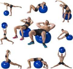 Tunturi Fitnessbal - Gymball - Swiss ball - 55 cm - Anti burst - Incl. pomp - Zwart