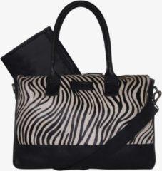 Mozz Bags MOZZ Luiertas Wild Ones Zwart-Zebra