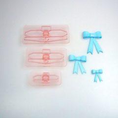 Roze J''E''M JEM Bows size 1-3, set/3