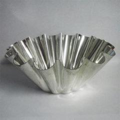 Zilveren Habitas4U Habitas Brioche bakvorm vertind 18cm