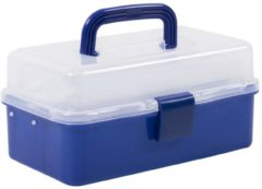 Blauwe Traxis Junior Tacklebox - Viskoffer - 2 Laden