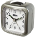 Groene Balance Quartz Alarm Clock Analogue Silver/White