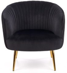 Home Style Fauteuil Crown in zwart